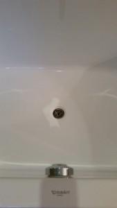 beschadiging badkuip